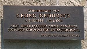 Neue Gedenktafel für Georg Groddeck in Bad Kösen