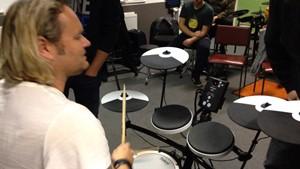 Workshop zum 5. Internationalen Schlagzeugfestival