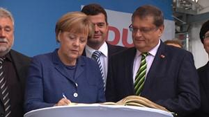 Die Bundeskanzlerin besucht Apolda