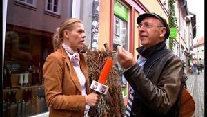 Anja und Gerd unterwegs auf Krämers-Brücke!