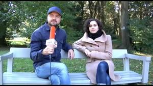 Andreas Max Martin trifft auf Schauspielerin Simone Müller