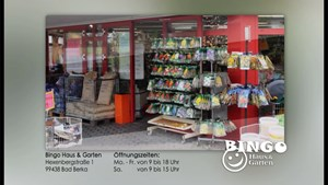 Bingo Markt (Werbetafel)