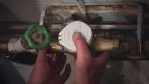 Austausch des Wasserzählers - Teil I