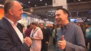 Leibrocks Bücher-Galaxie Spezial: Der Krimi-Pfarrer im Gespräch mit Sebastian Fitzek, Deutschlands erfolgreichstem Thriller-Autor