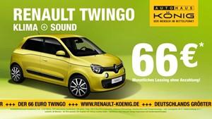 Günstiger geht nicht - Der neue Clio bei Renault König