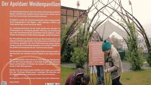 »Das Sahnehäubchen auf dem Apoldaer Weidenpavillon«