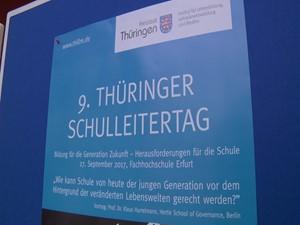Der Jugenderklärer auf dem Thüringer Schulleitertag