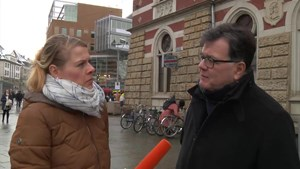 Sturmtief Friederike über Erfurt