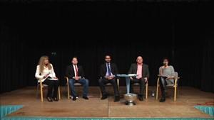 Podiumsdiskussion mit den Bad Sulzaer Bürgermeisterkandidaten - Teil 1