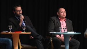 Podiumsdiskussion mit den Bad Sulzaer Bürgermeisterkandidaten - Teil 2
