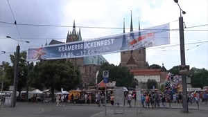 Krämerbrückenfest Erfurt 2018