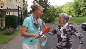 ANJA UNTERWEGS in Weimar-Schoendorf Teil2