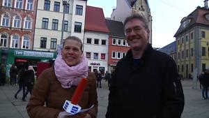 Bürgermeister Thomas Schulz aus Oberhof zu Gast in Erfurt