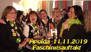 Faschingsauftakt in Apolda - 11.11.2019