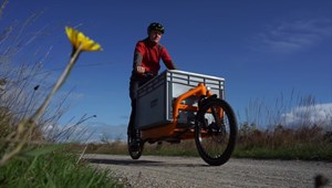 Schokolade im Lastenrad - Nachhaltiger Transport und Genuss