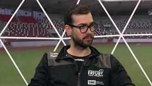 Florian Völker in Sporttalk: »Trotz der Niederlagen schöpfen wir Hoffnung«