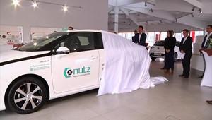 Erstes Wasserstoffauto in Thüringen ausgeliefert