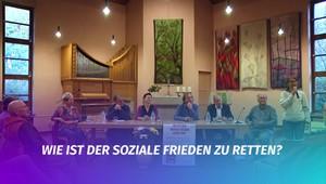 »Wie ist der soziale Frieden zu retten?« - Talk mit den Weimarer Direktkandidaten