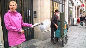 Anja unterwegs - Die gefählichsten Zonen in Erfurt