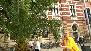 Unwetter in Thüringen Teil 2 - Anja unterwegs in Erfurt