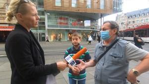 Debatte um Maskenpflicht in den Ländern - Anja unterwegs in Erfurt