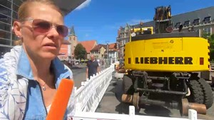 Baustellensommer 2020 - Anja unterwegs in Erfurt Teil 2