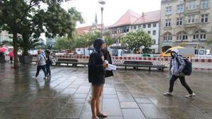 Urlaubsrückkehrer aus Risikogebieten müssen sich testen lassen - Anja unterwegs in Erfurt