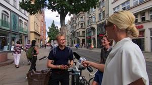 Was du heute kannst entkorken, das verschiebe nicht auf morgen - Anja unterwegs in Erfurt