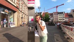 Unvorhergesehen - Anja unterwegs in Erfurt