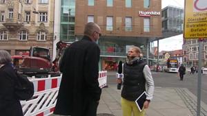 Zungenbrecher - Anja unterwegs in Erfurt