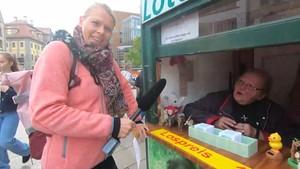 Übersinnliches an der Lotto-Bude - Anja esotherisch unterwegs in Erfurt