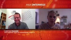 Vereinsarbeit in Pandemie-Zeiten - Anja unterwegs im Skype