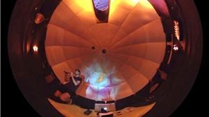 Premiere im Planetarium: Toskana Therme als Kulisse für TV-Serie mit Rundumblick