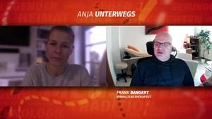 Anja unterwegs mit Verhaltenstherapeut Frank Bangert