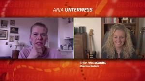 Christina Rommel bei »Anja unterwegs«