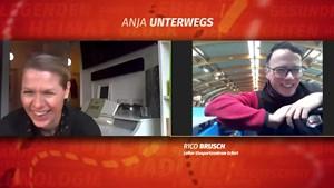 Eiskalt erwischt - Anja unterwegs mit Erfurts bestem Eismann