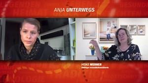 Corona-Impfungen in Thüringen - Gesundheitsministerin Heike Werner bei »Anja unterwegs«