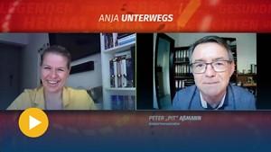 Erfurts Veranstaltungs- und Musikerlegende Pit Aßmann bei »Anja unterwegs«