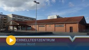 Corona Schnelltestzentrum in Weimar-Nord