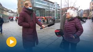 Geschichtenfängerin Anja unterwegs auf dem Erfurter Anger