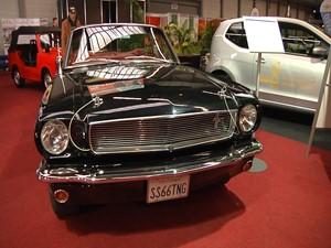 Oldtimer auf der Automobil Messe Erfurt