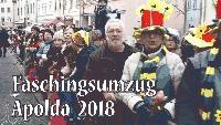 Faschingsumzug Apolda am 10.02.2018   Imressionen