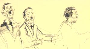 Zeichnungen von Alfred Ahner