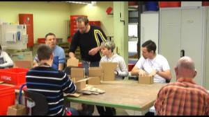 Ein neuer Weg in der Werkstatt für Behinderte in Kromsdorf