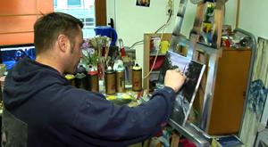 Der Erfurter Maler Peer Galus