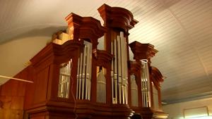 Die restaurierte Hess-Orgel von Holzhausen