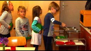 Kinderrestaurant in der KITA Nordknirpse in Apolda