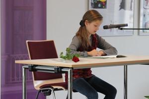 Buchlöwen-Gewinnerin Lucia