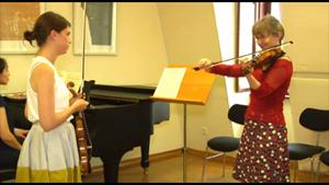 Meisterkurs an der Hochschule für Musik Franz Liszt