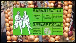 Stadtlauf in Weimar zum Zwiebelmarkt